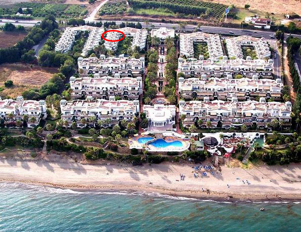 Donminion Beach Apartment From The Air